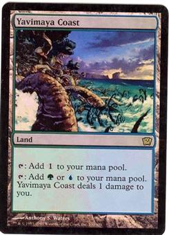 Magic the Gathering 9th Edition Single Yavimaya Coast Foil