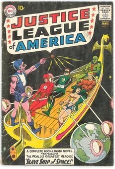Justice League of America #3  VG