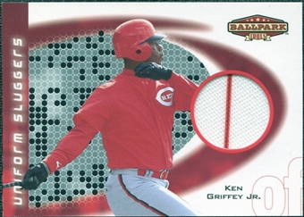 2002 Upper Deck Ballpark Idols Uniform Sluggers Jerseys #KG Ken Griffey Jr. SP