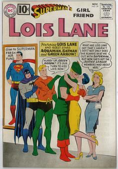 Superman's Girl Friend Lois Lane #29 VF-