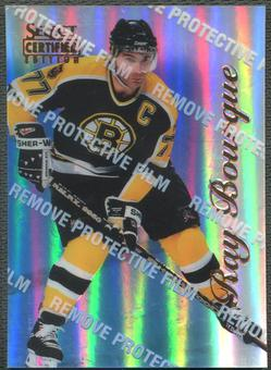 1996/97 Select Certified #5 Ray Bourque Mirror Blue With Coating