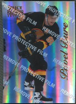 1996/97 Select Certified #34 Pavel Bure Mirror Blue With Coating