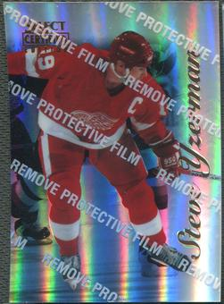 1996/97 Select Certified #41 Steve Yzerman Mirror Blue With Coating