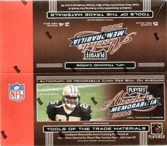 2006 Playoff Absolute Memorabilia Football 24-Pack Box