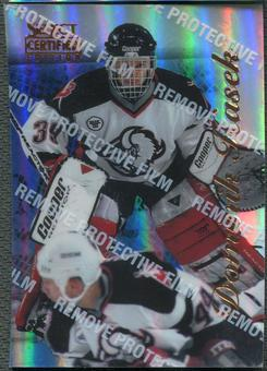 1996/97 Select Certified #74 Dominik Hasek Mirror Blue With Coating