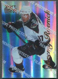 1996/97 Select Certified #77 Jeremy Roenick Mirror Blue With Coating