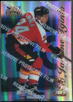 1996/97 Select Certified #93 Jarome Iginla Rookie Mirror Blue With Coating