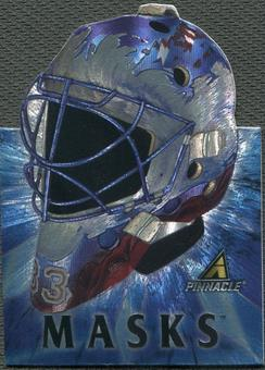 1997/98 Pinnacle #5 Patrick Roy Masks Die Cuts
