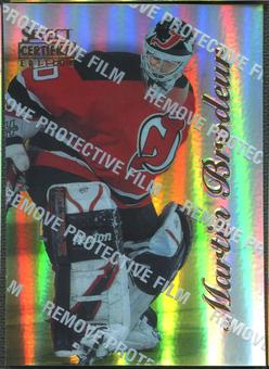 1996/97 Select Certified #6 Martin Brodeur Mirror Gold