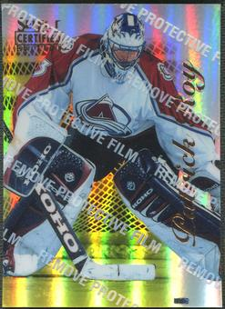 1996/97 Select Certified #81 Patrick Roy Mirror Gold