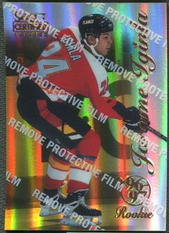 1996/97 Select Certified #93 Jarome Iginla Rookie Mirror Gold