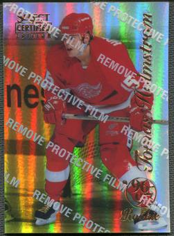 1996/97 Select Certified #97 Tomas Holmstrom Rookie Mirror Gold