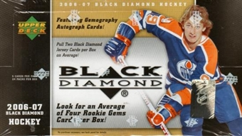 2006/07 Upper Deck Black Diamond Hockey Hobby Box
