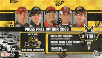 2006 Press Pass Optima Racing Hobby Box