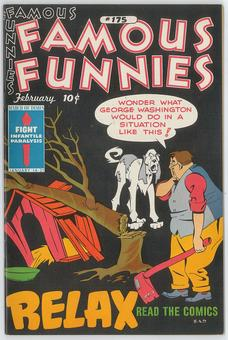 Famous Funnies  #175 VF/NM