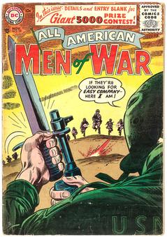 All American Men of War #39  VG