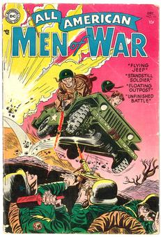All American Men of War #16 VG-
