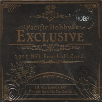 1997 Pacific Crown Royale Football Hobby Box