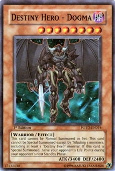 Yu-Gi-Oh Power of the Duelist Single Destiny Hero - Dogma Super Rare