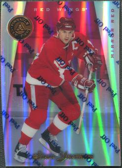 1997/98 Pinnacle Certified #38 Steve Yzerman Mirror Red