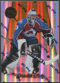 1997/98 Pinnacle Certified #2 Patrick Roy Mirror Gold