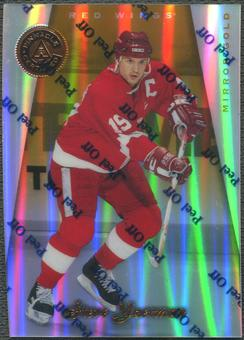 1997/98 Pinnacle Certified #38 Steve Yzerman Mirror Gold