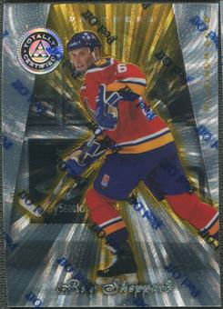 1997/98 Pinnacle Totally Certified #90 Ray Sheppard Platinum Gold #38/69