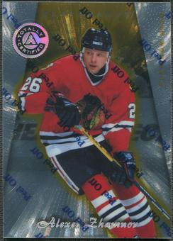 1997/98 Pinnacle Totally Certified #101 Alexei Zhamnov Platinum Gold #01/69