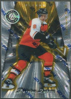 1997/98 Pinnacle Totally Certified #116 Dainius Zubrus Platinum Gold #01/69