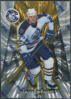 1997/98 Pinnacle Totally Certified #124 Jason Arnott Platinum Gold #01/69
