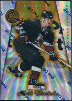 1997/98 Pinnacle Totally Certified #37 Keith Tkachuk Mirror Platinum #10/30