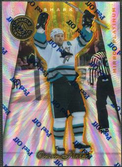 1997/98 Pinnacle Totally Certified #59 Owen Nolan Mirror Platinum #13/30