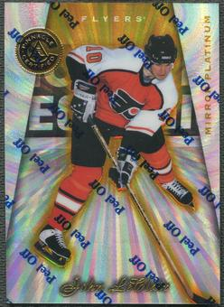 1997/98 Pinnacle Totally Certified #119 John LeClair Platinum Mirror #12/30