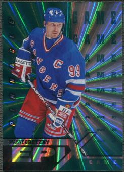 1997/98 Pinnacle #1 Wayne Gretzky Epix Game Emerald