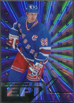 1997/98 Pinnacle #1 Wayne Gretzky Epix Game Purple
