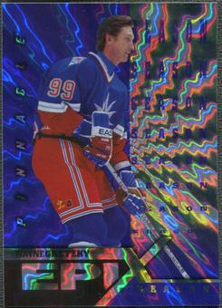 1997/98 Pinnacle #1 Wayne Gretzky Epix Season Purple