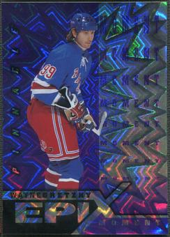 1997/98 Pinnacle #1 Wayne Gretzky Epix Moment Purple