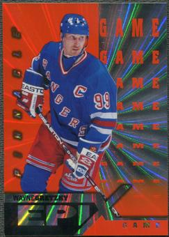 1997/98 Pinnacle #1 Wayne Gretzky Epix Game Orange