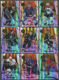 1997/98 Pinnacle Certified Mirror Gold 40 Card Lot Lindros, Kariya, Bure, Hull