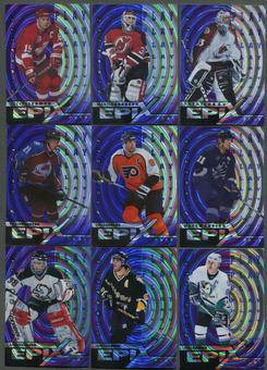 1997/98 Pinnacle Epix Play Purple 36 Card Lot Roy, Yzerman, Hasek, Messier