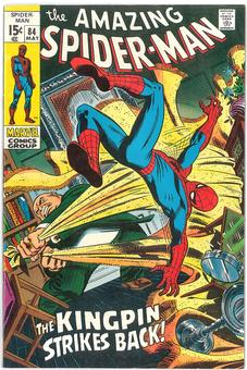 Amazing Spider-Man #84  VF/NM-