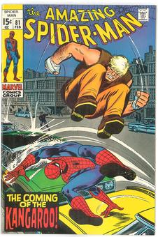 Amazing Spider-Man #81  VF+
