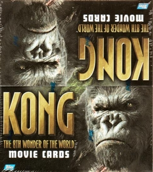 King Kong The 8th Wonder of the World 24-Pack Box (2005 Topps)