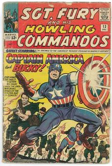 Sgt. Fury and His Howling Commandos #13 GD
