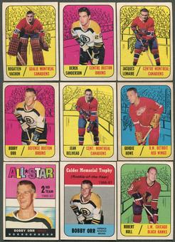 1967/68 Topps Hockey Complete Set (VG-EX)