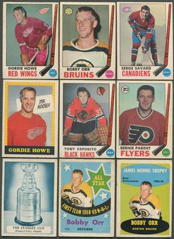 1969/70 O-Pee-Chee Hockey Complete Set (VG)