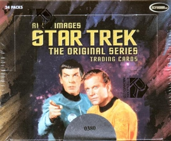 Star Trek The Original Series Art & Images Trading Cards Box (Rittenhouse 2005)
