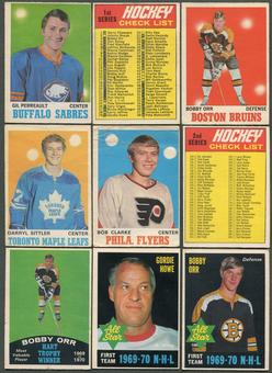 1970/71 O-Pee-Chee Hockey Complete Set (VG)