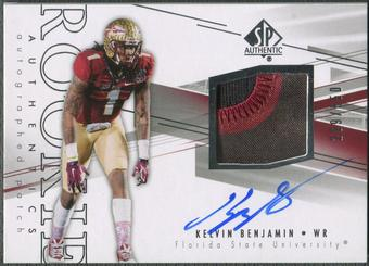 2014 SP Authentic #202 Kelvin Benjamin Rookie Patch Auto #269/550