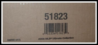 2006 Upper Deck Ultimate Collection Baseball Hobby 4-Box Case